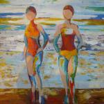 Peinture acrylique sur toile de Fabienne